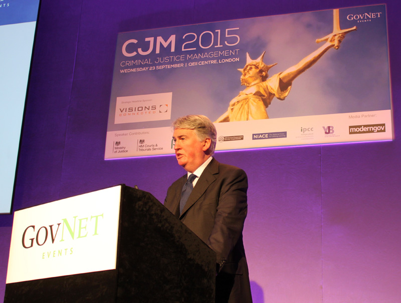 Kevin McGinty speech at CJM 2015