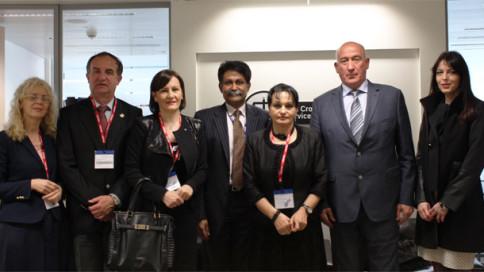 Montenegrin delegation April 2016