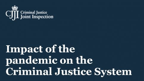 Impact of the pandemic on the criminal justice system