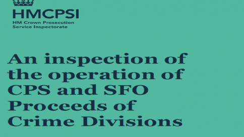 Proceeds of Crime Divisions CPS and SFO
