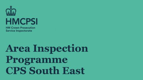 Area Inspection Programme CPS South East