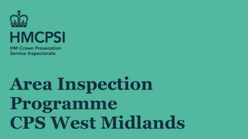 Area Inspection Programme CPS West Midlands