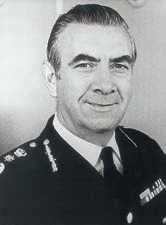 Sir Lawrence Byford, CBE, QPM, DL, LLB (January 1983 – March 1987)