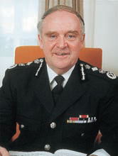Sir John Woodcock, CBE, CStJ, QPM (April 1990 – May 1993)