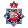 The logo of Greater Manchester Police