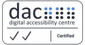 Digital accessibility centre AA WCAG certificate
