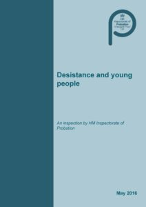 Desistance and young people 1