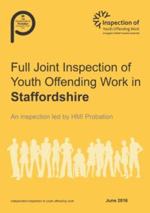 Staffordshire FJI front cover