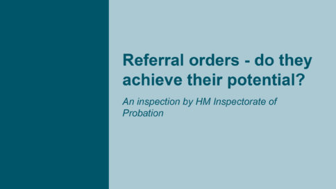 Referral orders - do they achieve their potential?