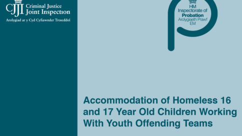 Accommodation of Homeless 16 and 17 Year Old Children Working With Youth Offending Teams