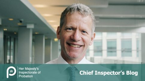 Photograph of Justin Russell, Chief Inspector of Probation